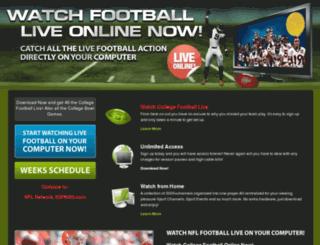 streamcollegefootball.com screenshot