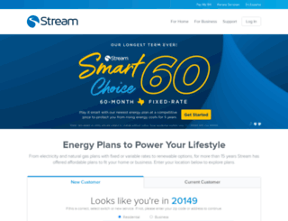 streamenergy.net screenshot