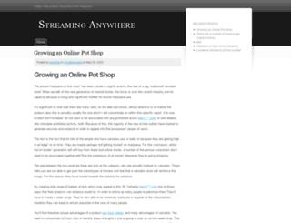 streaming-anywhere.com screenshot