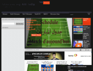 streamingallinfo.blogspot.com screenshot