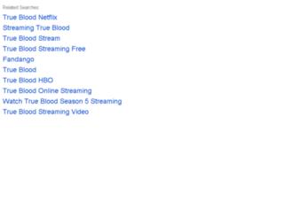 streamingtrueblood.com screenshot