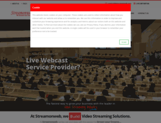 streamonweb.com screenshot