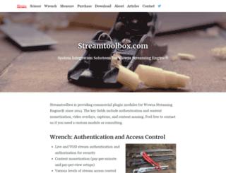 streamtoolbox.com screenshot