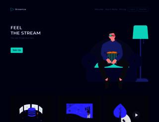 streamza.com screenshot