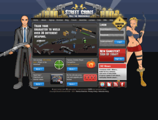 street-crime.com screenshot