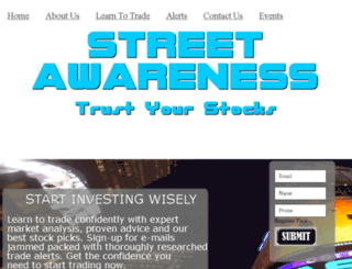 streetawareness.com screenshot