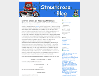 streetcross.wordpress.com screenshot