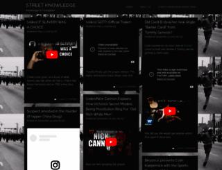 streetknowledge.wordpress.com screenshot