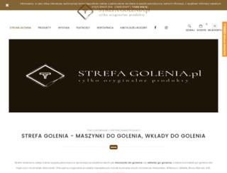 strefagolenia.pl screenshot