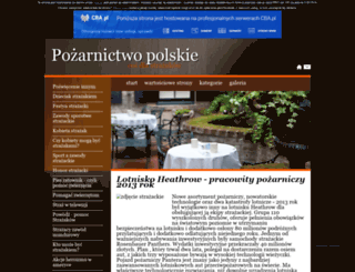strefastrazaka.cba.pl screenshot