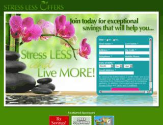 stresslessoffers.com screenshot