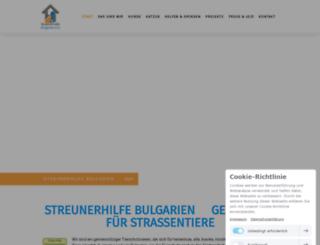 streunerhilfe-bulgarien.de screenshot