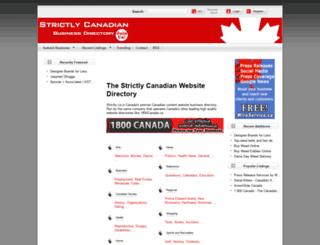 strictly.ca screenshot