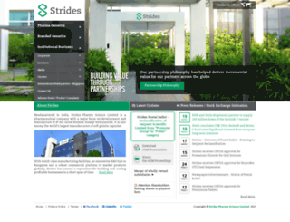 stridesarco.com screenshot