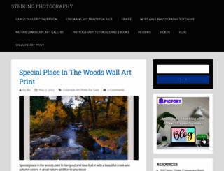 strikingphotography.net screenshot