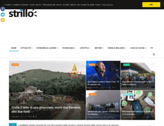 strillo.eu screenshot