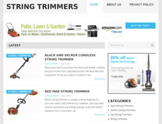 string-trimmers.com screenshot