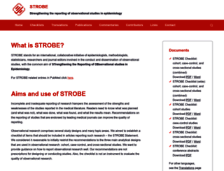 strobe-statement.org screenshot