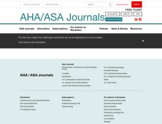 stroke.ahajournals.org screenshot