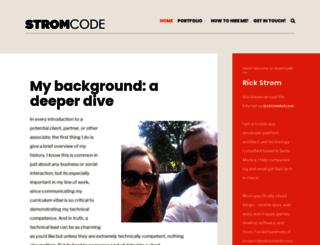 stromcode.com screenshot