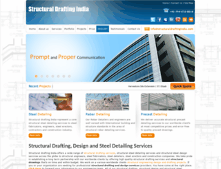 structuraldraftingindia.com screenshot