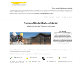 structuralengineersinlondon.co.uk screenshot