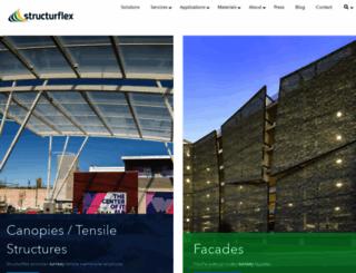 structurflex.com screenshot