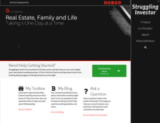 strugglinginvestor.com screenshot