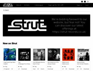 strut-records.com screenshot