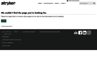 strykercorp.com screenshot