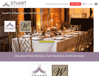 stuartrental.com screenshot