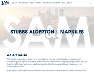 stubbsalderton.com screenshot