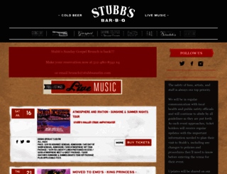 stubbsaustin.com screenshot