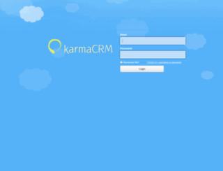 stuccoitalianoinc.karmacrm.com screenshot