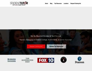 student-tutor.com screenshot