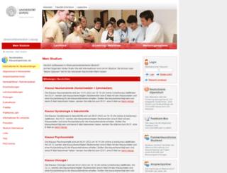 student.uniklinikum-leipzig.de screenshot