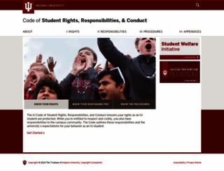 studentcode.iu.edu screenshot