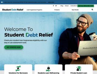 studentdebtrelief.us screenshot