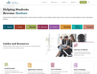 studentdoctor.net screenshot