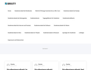 studentenrabatte.org screenshot