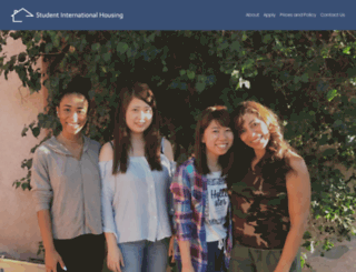 studentinternationalhousing.com screenshot