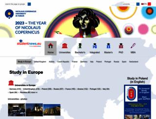studentnews.eu screenshot