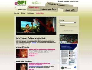 students.egfi-k12.org screenshot
