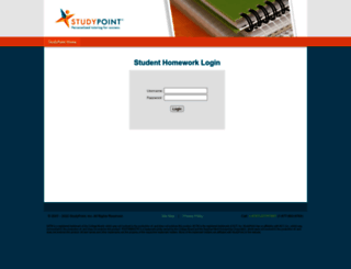 students.studypoint.com screenshot