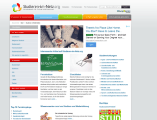 studieren-im-netz.org screenshot