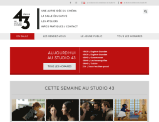 studio43.fr screenshot