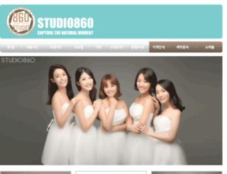 studio860.co.kr screenshot
