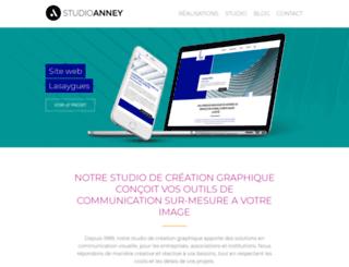 studioanney.com screenshot