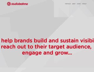 studiobrahma.com screenshot