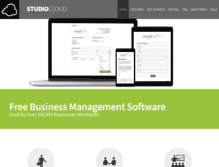 studiocloud.com screenshot